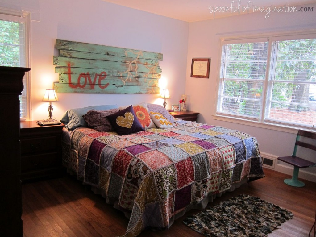 Quilt Ideas For Master Bedroom : Our Home - Spoonful of Imagination