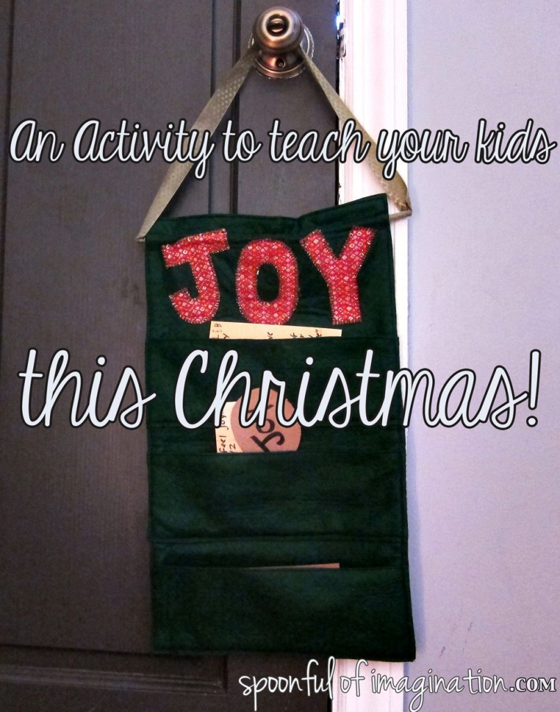 Teaching JOY this holiday season