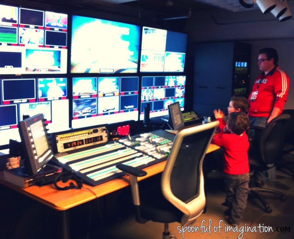 philips arena control room