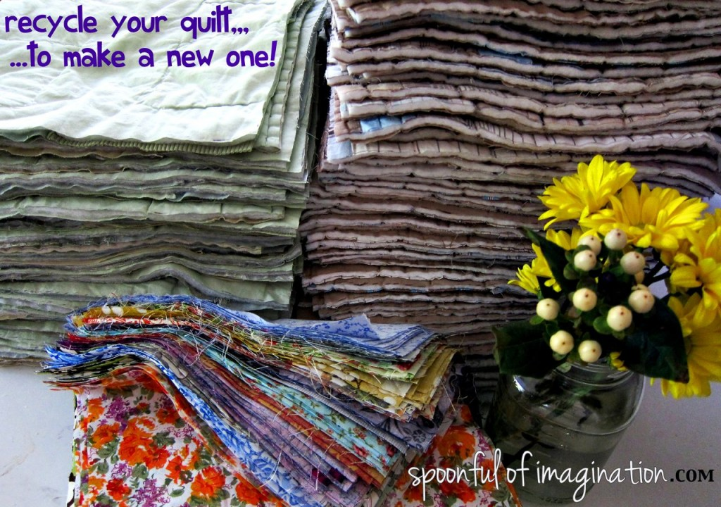 DIY King Size Rag Quilt {Repost} - Spoonful of Imagination