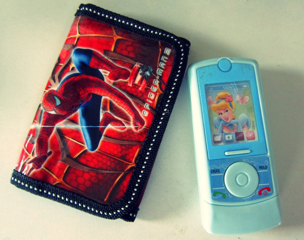 wallets and phones