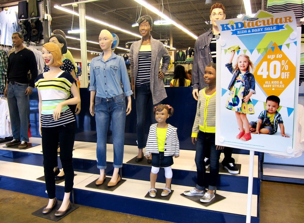 old navy welcome team