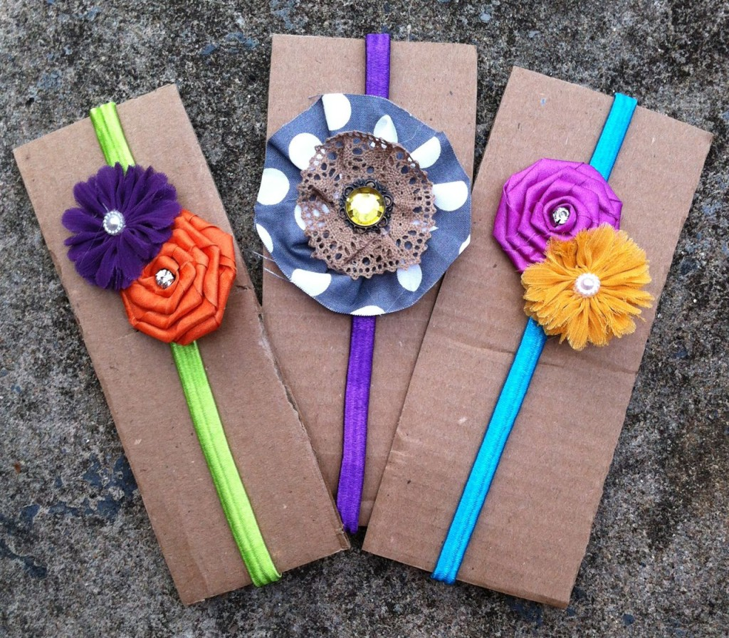 Spring Color Headbands