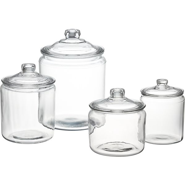 Glass Jars With Lids Spoonful Of Imagination