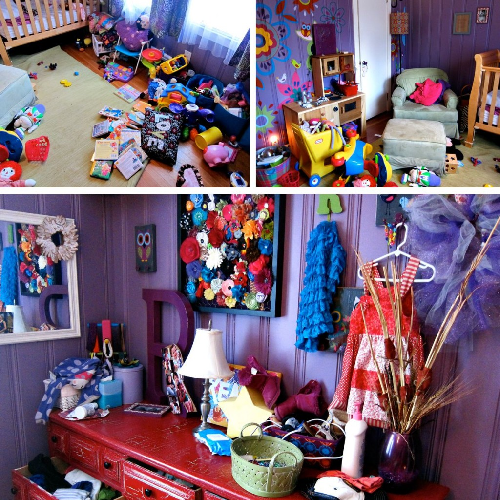Messy Bedroom: Spoonful Of Imagination