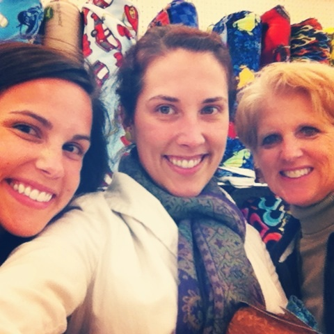 Olivia, my mom, and I went to dinner and shopping last night w/o kids.  It was so fun!