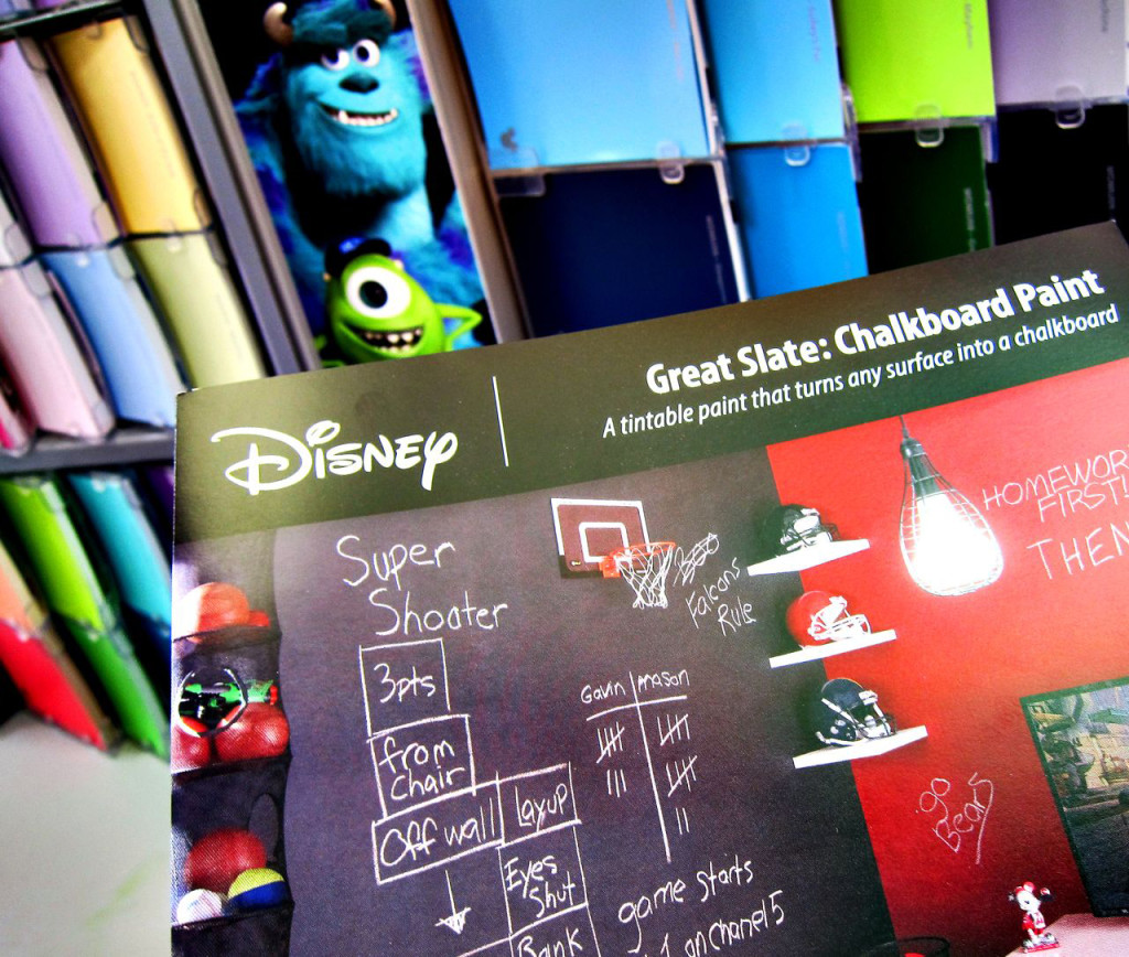 Chalkboard Paint by Disney