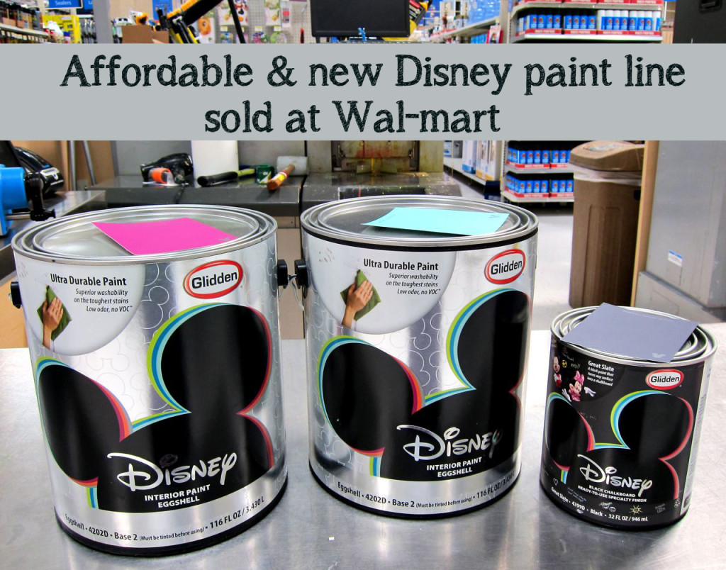 Disney Glidden Paint At Walmart