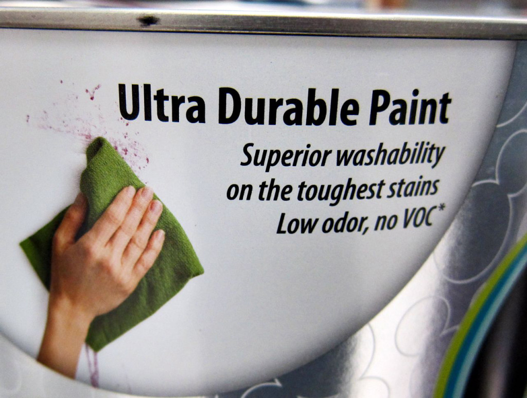 Ultra Durable paint by Disney