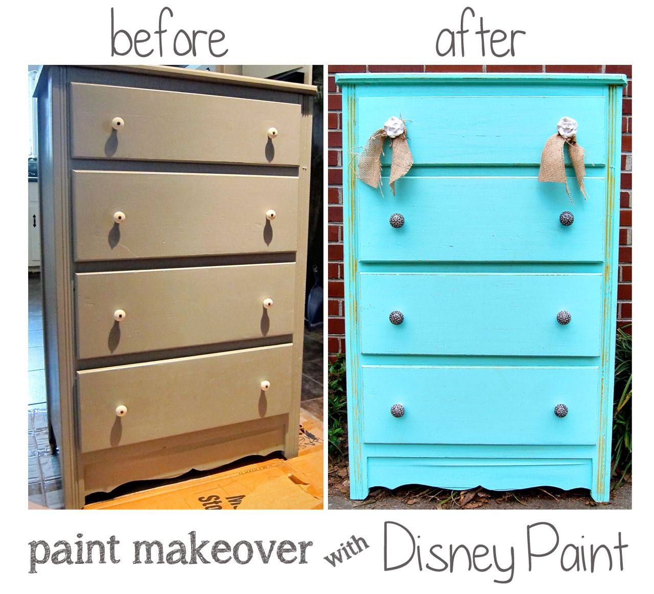 Before And After Pictures Of Painted Dresser Spoonful Of