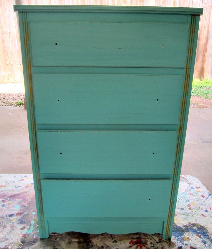 disney painted dresser