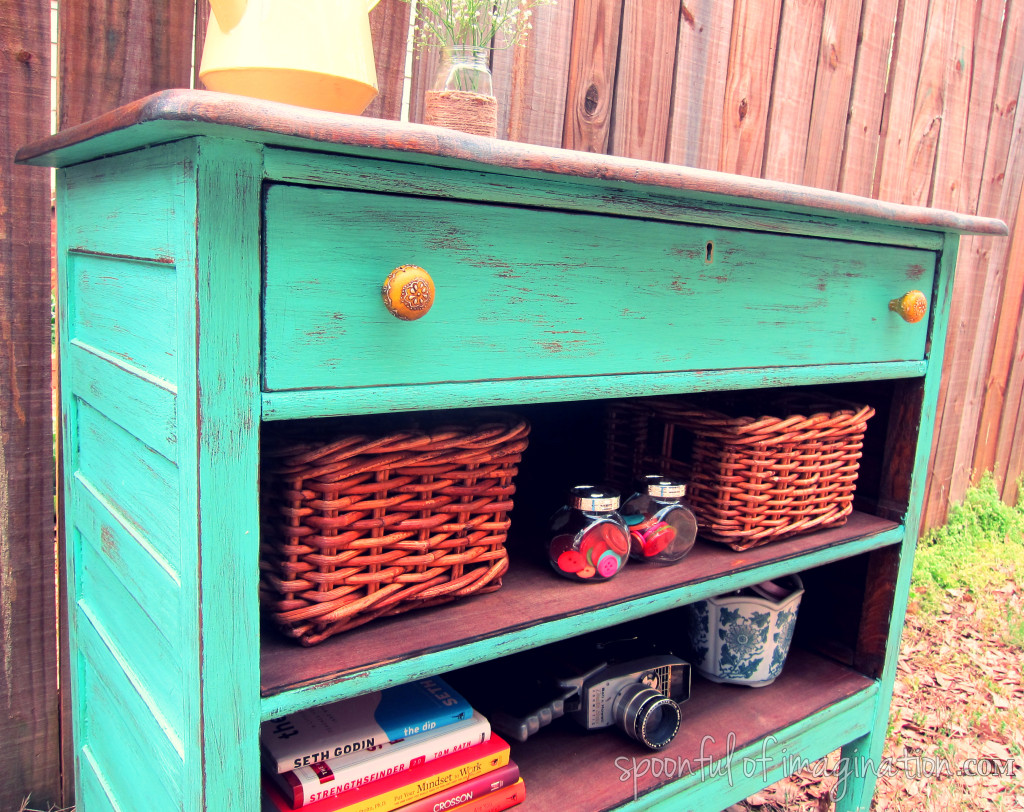 recycled dresser