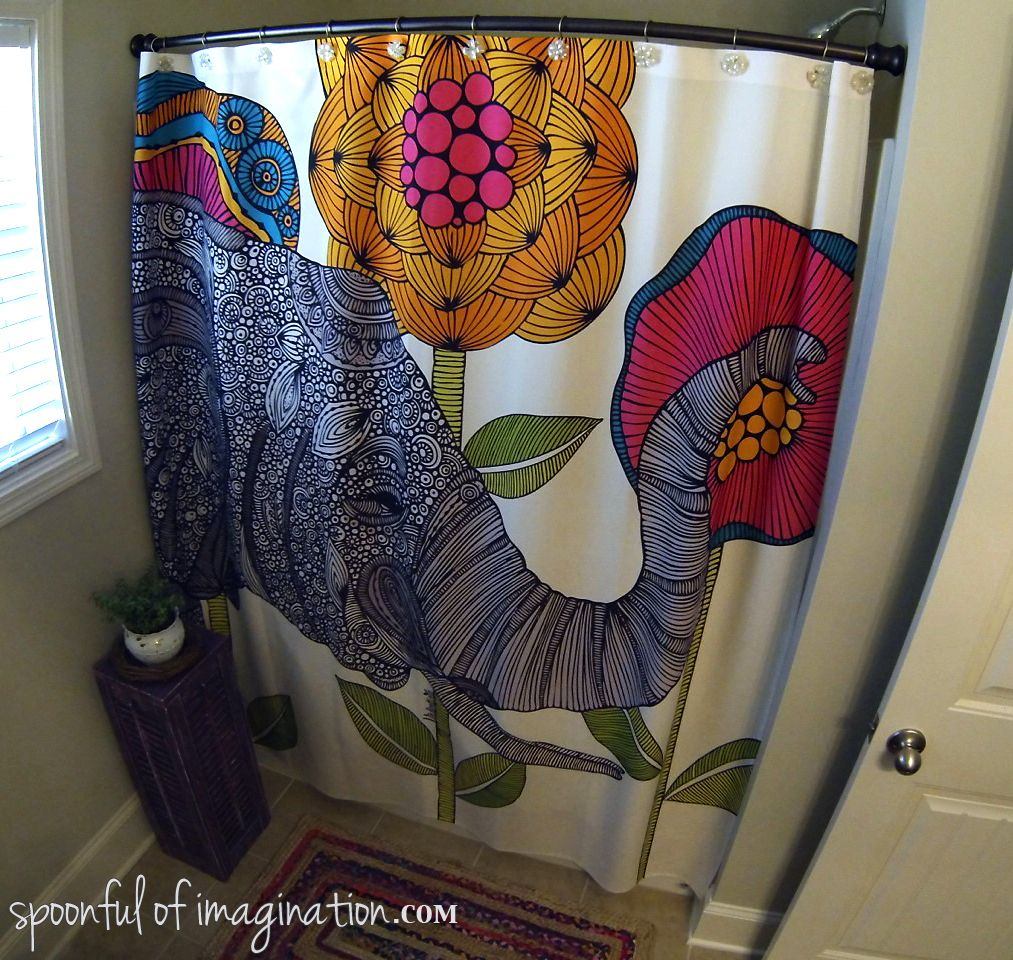 my bathroom design inspiration deny designs shower curtain  - this shower curtain inspired me to design and think of fun ways to helpcomplete my bathroom i love that there are fun elements in there but theshower