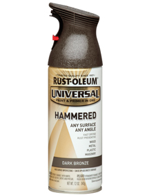 Hammered spraypaint
