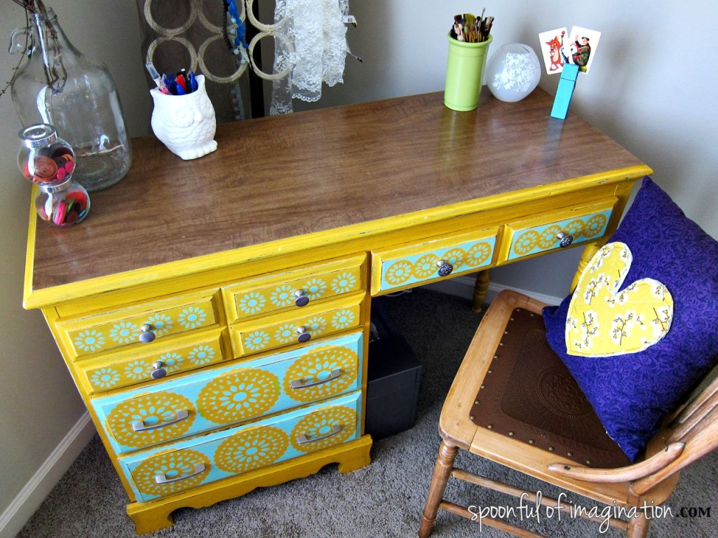 My Craft Desk {a special furniture revamp}