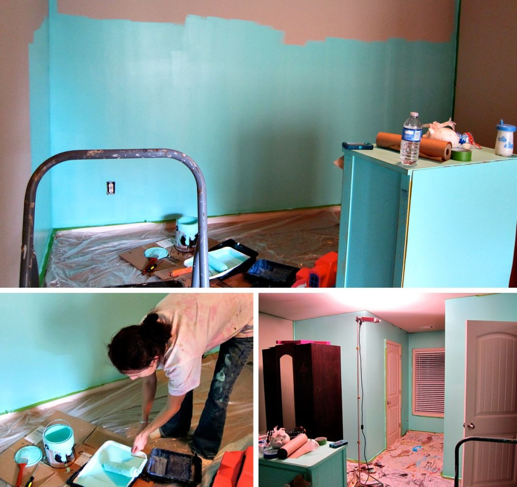 painting a room teal