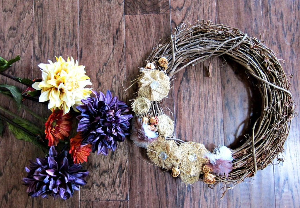 creating a new wreath