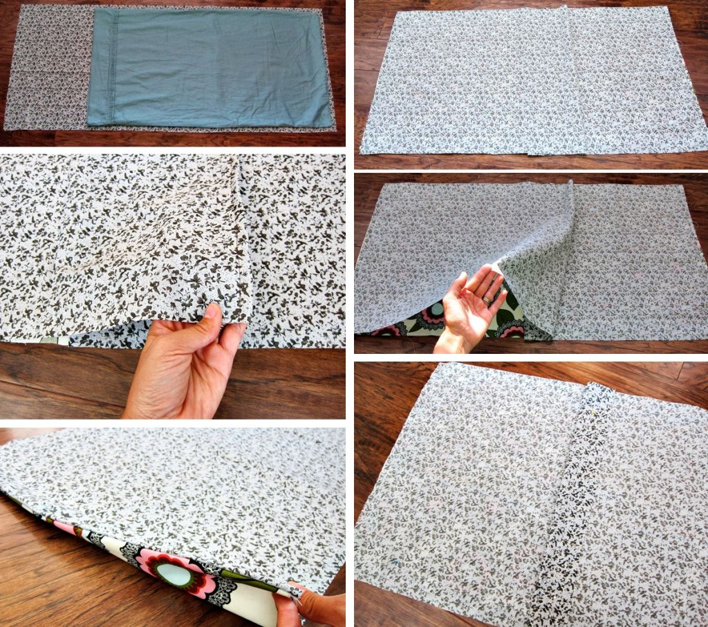 making a pillow sham