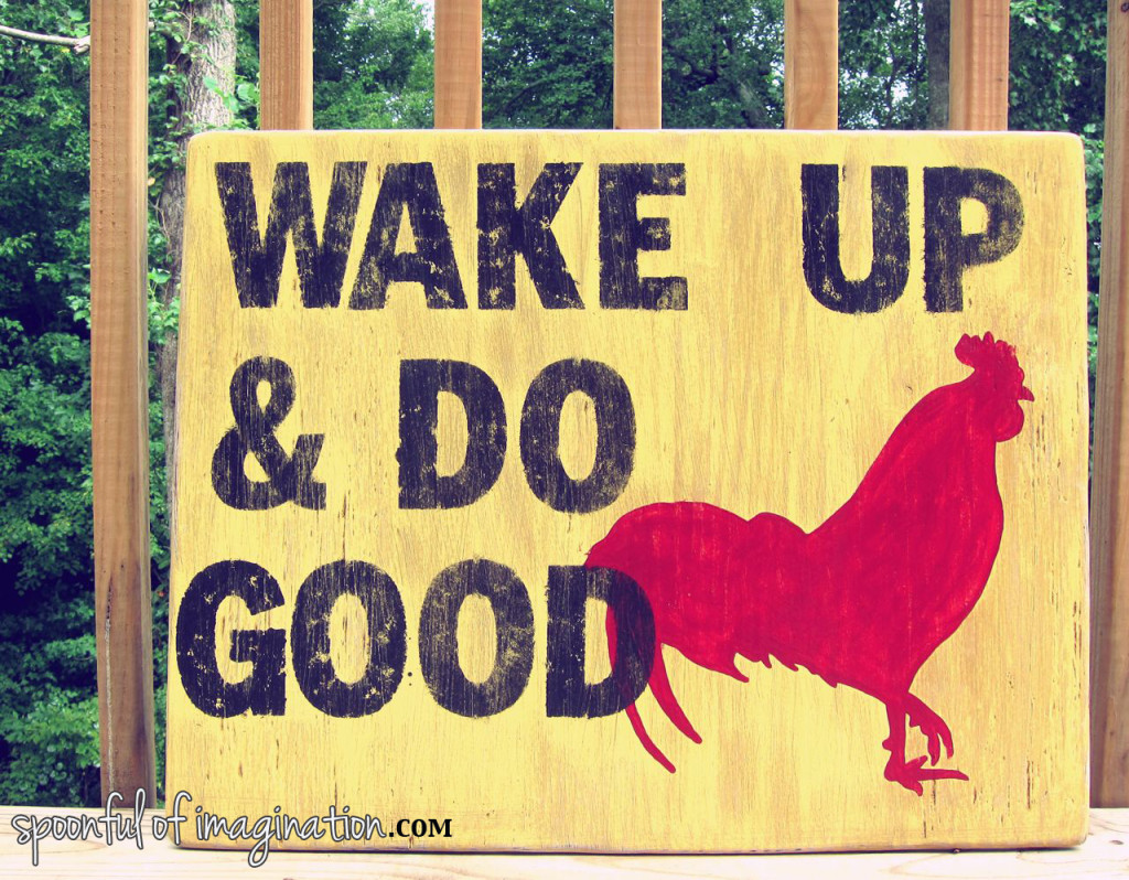 Wake Up and Do Good