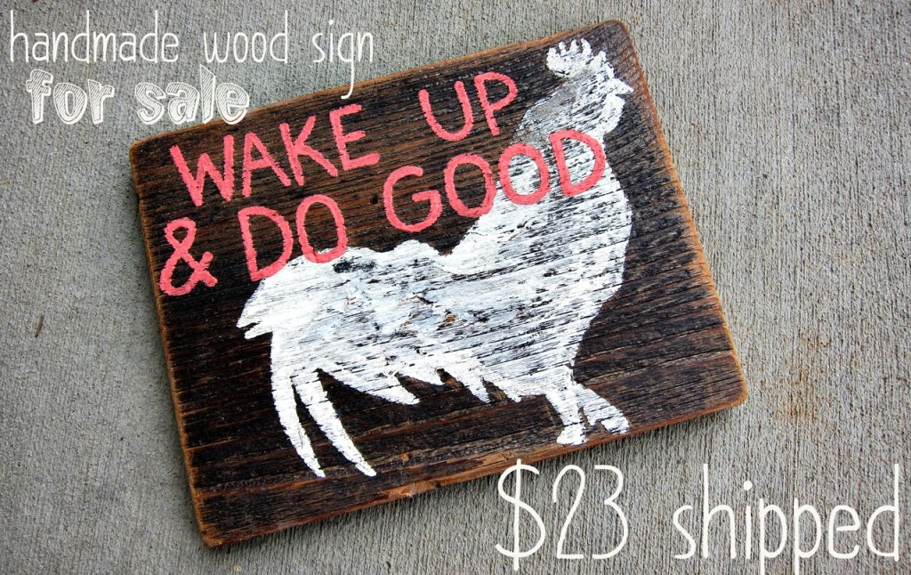 wake_up_wood_sign
