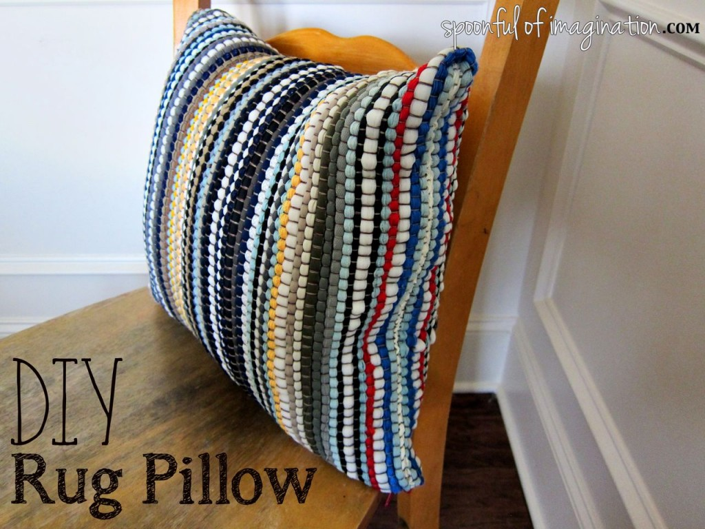 DIY_Rug_Pillow