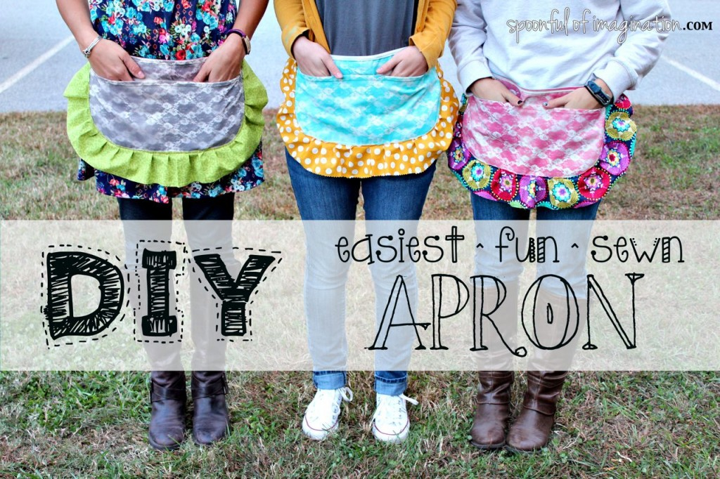 Easiest Sewn Apron Ever
