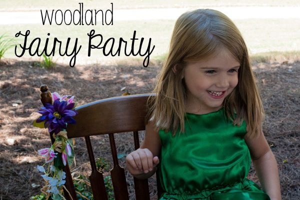 Woodland Fairy Birthday Party