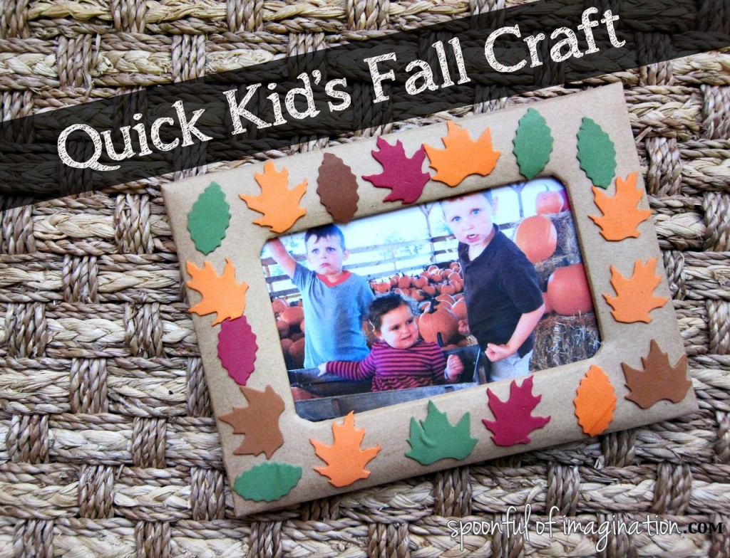 "The ""No Mess"" Preschool Fall Craft"