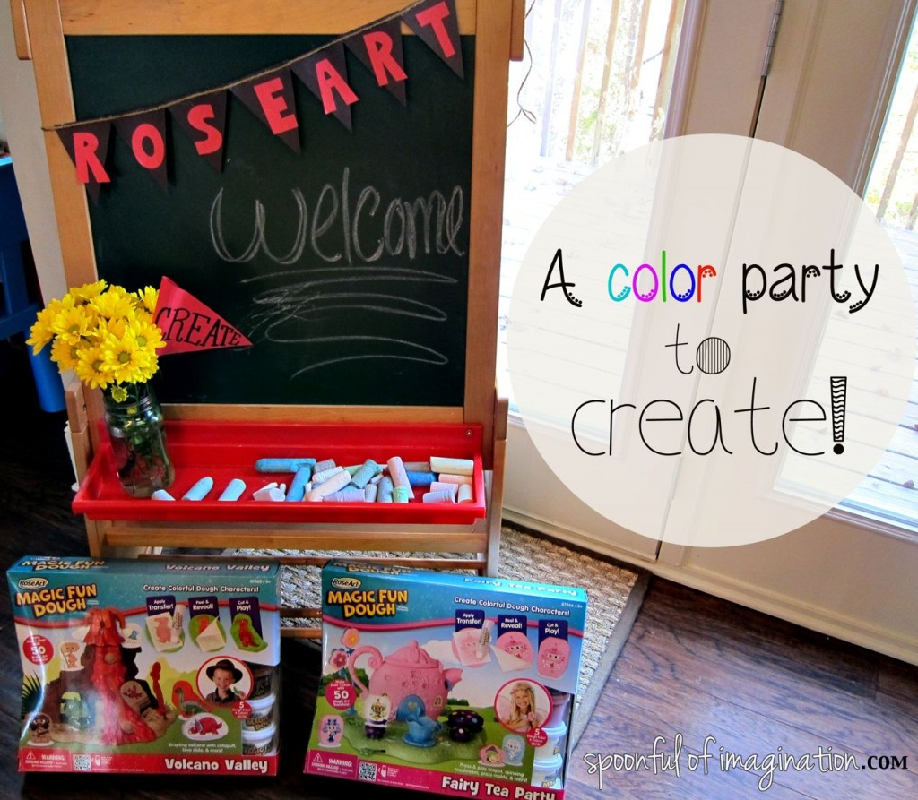 "A Playdate All about ""Color & Create"" with Roseart"