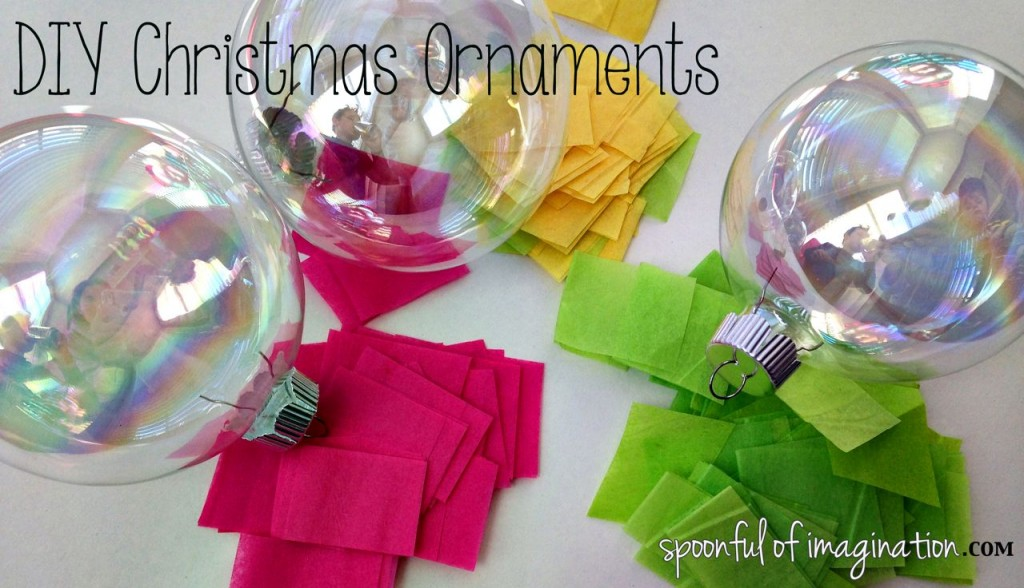DIY Christmas Ball Ornaments