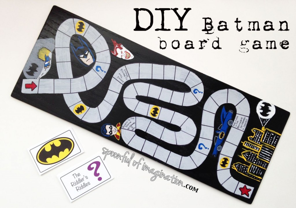 DIY Batman Party Game
