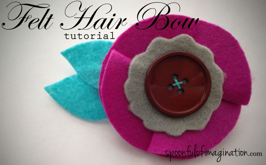DIY Felt Hair Bow