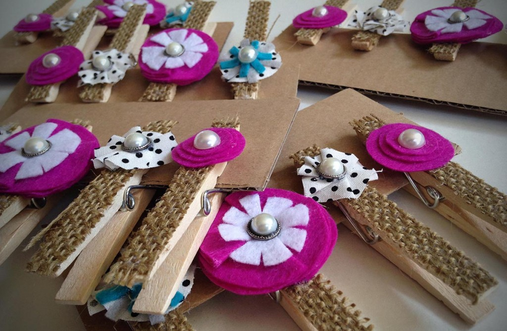Embellished Clothes Pin