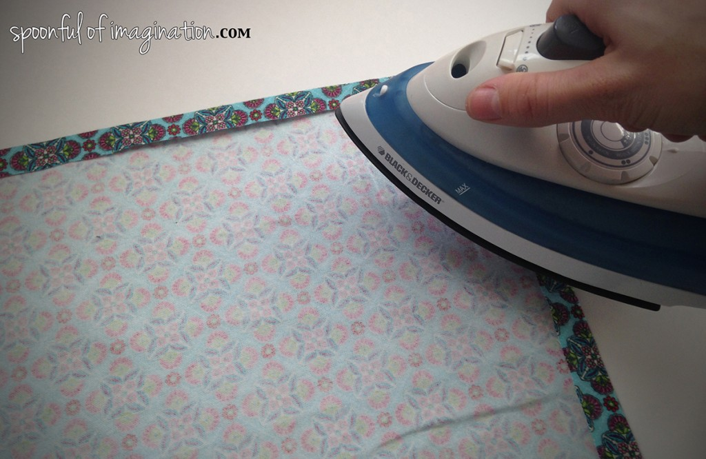 ironing flannel