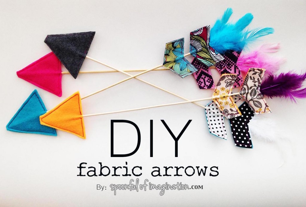 DIY Fabric Arrows