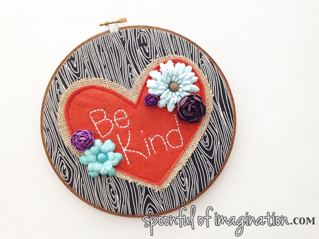 be_kind_embroidery hoop