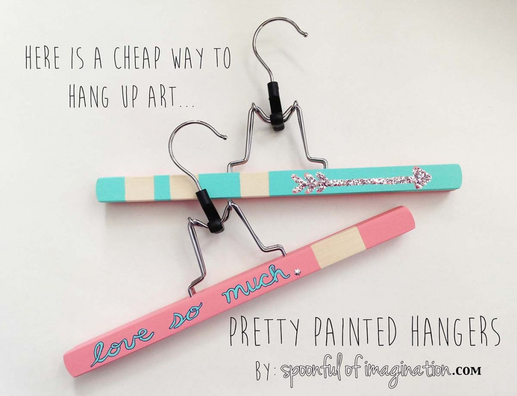 pretty_painted_hangers