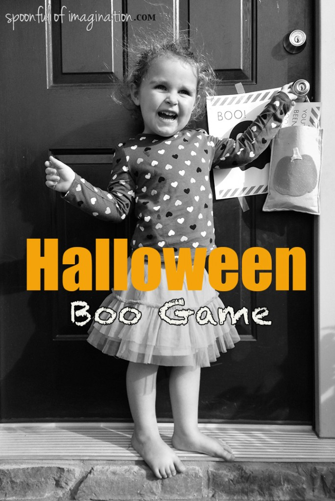 Hallooween Boo Game (neighborhood fun)