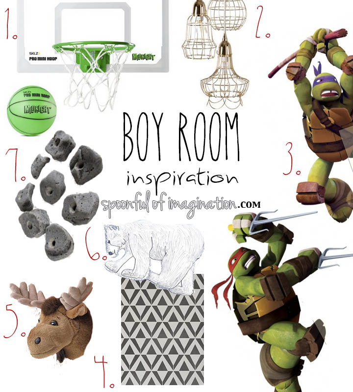 Dreaming Big (my boys bedroom plans)