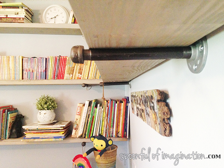 DIY_wood_book_shelves