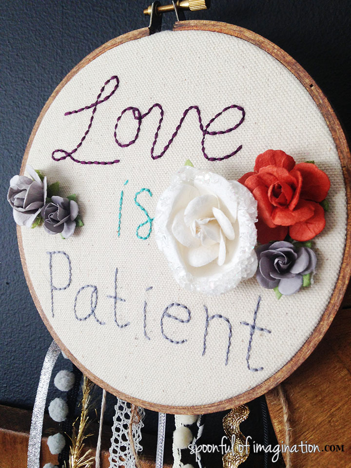 love_is_patient_wall_art