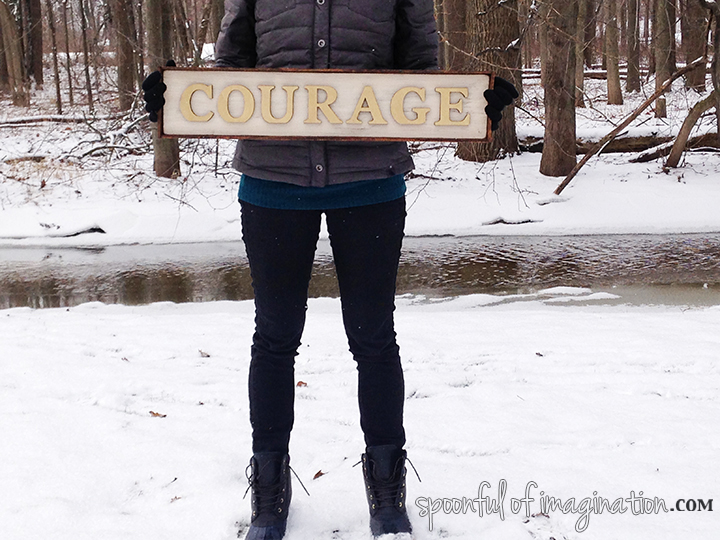 My One Little Word for 2016: Courage