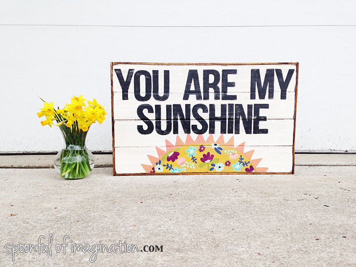You are My Sunshine (and finding inspiration)