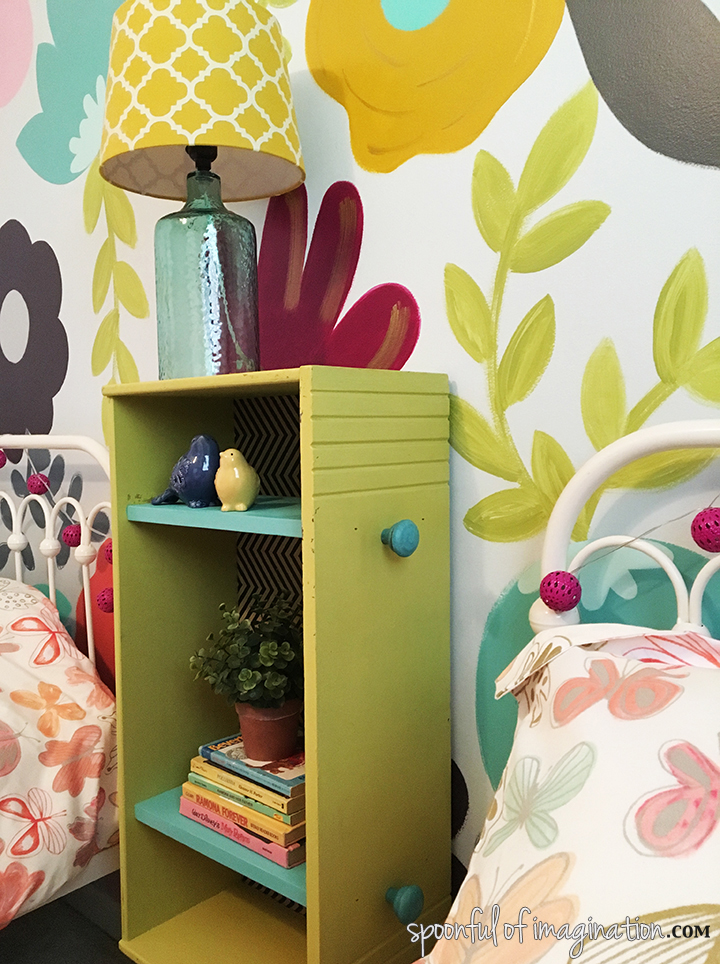 Easy Narrow Nightstand (for that small nook)