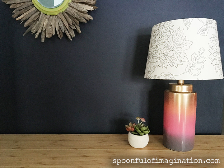 Colorful Desk Lamp Tutorial